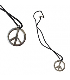 Collier pendentif Paix metal