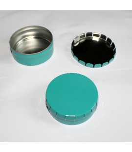 Boite clic-clac turquoise