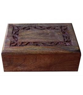 Belle boite secrete en bois