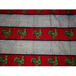 Tissu africain batik real wax N° 3