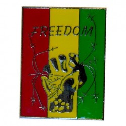 Pin's Rasta Freedom