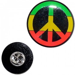 Pins Rasta Peace & Love