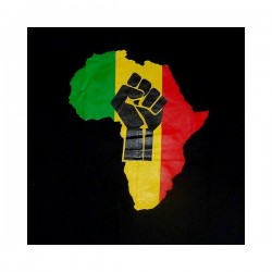 T-shirt Africa Black Power couleur