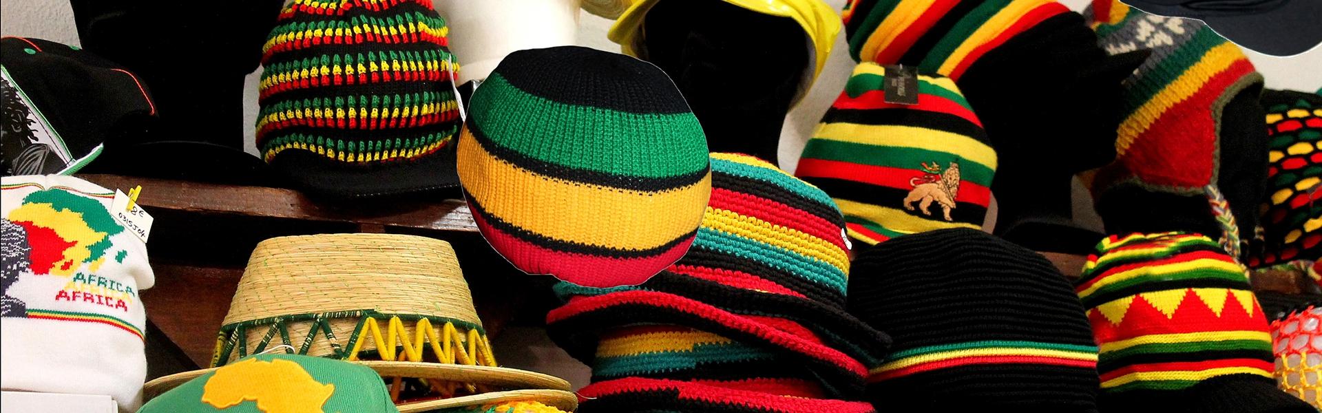 Chapeaux bonnets casquettes rasta